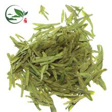 Té de Longjing verde ardiente gordo orgánico del té de la hoja suelta