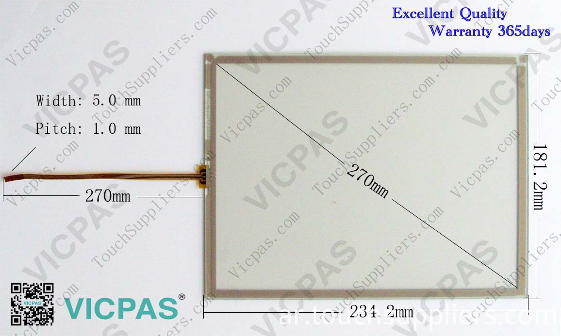 TP270-10 touch screen