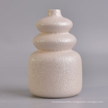 Pearl Glazing Diffuser Bottles with Cream Color