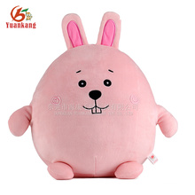 coelhinho de pelúcia rosa coelho de brinquedo macio