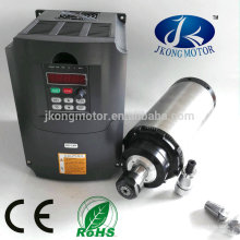 factory price CNC 2.2 Kw water / air cooling spindle motor