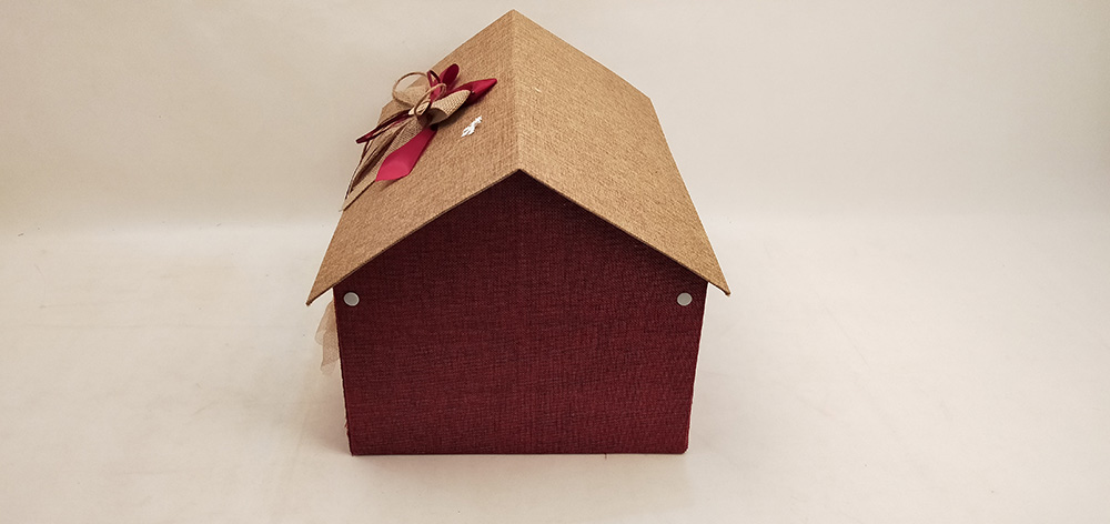 Gift Box Shaped Like a House