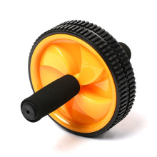 Abdominal Exercise Ab Wheel Roller with Foam Handles, Great Grip, Double Wheels