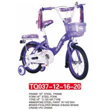 Nueva llegada de 12 pulgadas de Purple Baby Bike / Kids Bike