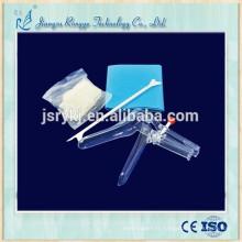 Kit de gynécologie médicale jetable de haute qualité