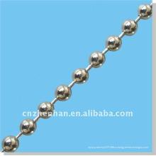 Цепочка шариков из нержавеющей стали 4.5 мм для роликов-занавесок