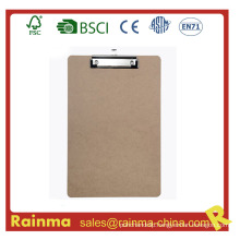 Office Wood Clipboard with Flat Clip