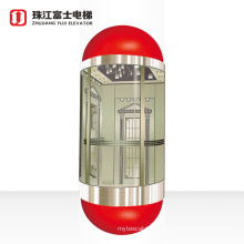 ZhuJiangFuji Factory Hot Sale & High Quality Residential Panoramic Elevator With Long-term Service