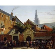 Классическая картина художника Холланда Холст