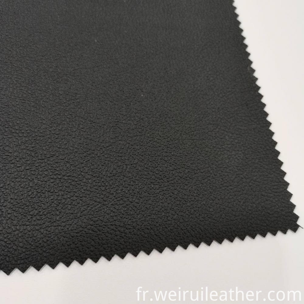 Full Lines Leather With French Terry