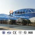 4mm/6mm/8mm/10mm colored waterproof polycarbonate carport