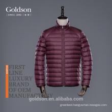 2017 Handsome Men Winter Outerwear Plush Goose Down Coat