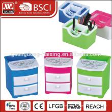 Guangzhou MINI plastic desk storage tidy