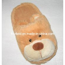 Sapatilhas de brinquedo de pelúcia sapatas de animais de pelúcia (tf9718)