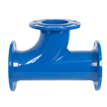 Pipe fittings Ductile Iron Y style Socket Tee
