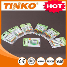 nimh rechargeable battery size AAA 600MAH
