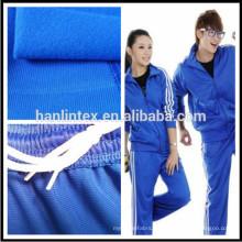 100% Polyester Trikot gebürstetes Strickgewebe für Sporttuch
