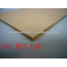 MDR Furnier Sperrholz-Red Eiche für dekorative