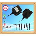 CE,UL5v 2a eu uk us au interchangeable plug power adapter