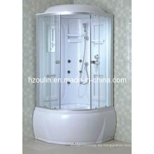 Cabina de lujo completa del cubículo de la caja de la casa de la ducha del vapor (AC-77)