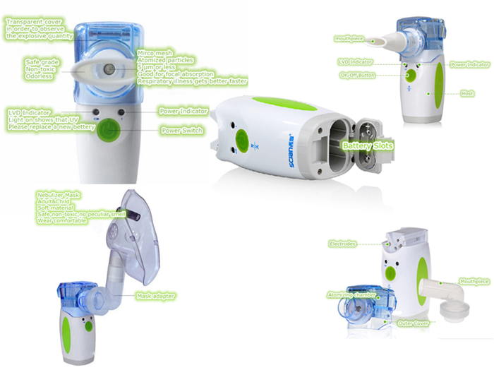 new ultrasonic nebulizer