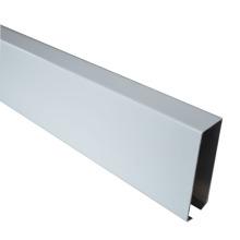 aluminum u-shaped baffle linear tube ceiling with decoration design