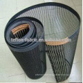 Teflon wire mesh dryer belt with reinforced edge and joint