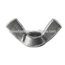 Углеродистая сталь крыланая гайка, нержавеющая сталь крыланая гайка, винт крыльчатой гайки высокое качество