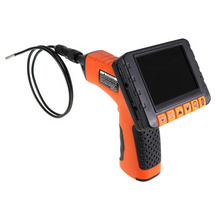 new design diamond metal detector with 3.5 inch lens camera