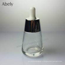 Уникальная круглая стеклянная бутылка с дизайном 35 мл для парфюмерии
