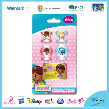 Princess Sofia 5 Piece Stamp and Inkpad Set
