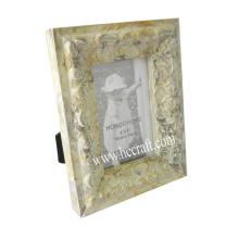 Gesso / jóias Compo Quadro de madeira da foto
