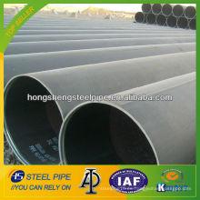 Astm a53 ERW tubo de acero al carbono tubo de longitud aleatoria