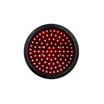 200mm 8 inch LED Traffic Light manufacturer red round aspect