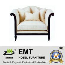 Sofá de alto grado de cojín sofá para el hotel (EMT-SF28)