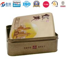 Wholesale Rectangular Metal Food Packaging Box, Food Packaging Box Jy-Wd-2015120310