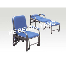 (D-6) Stainless Steel Accompanying Chair