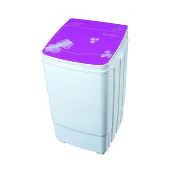 Purple Glass Cover 9KG Mesin Pencuci Tub Single