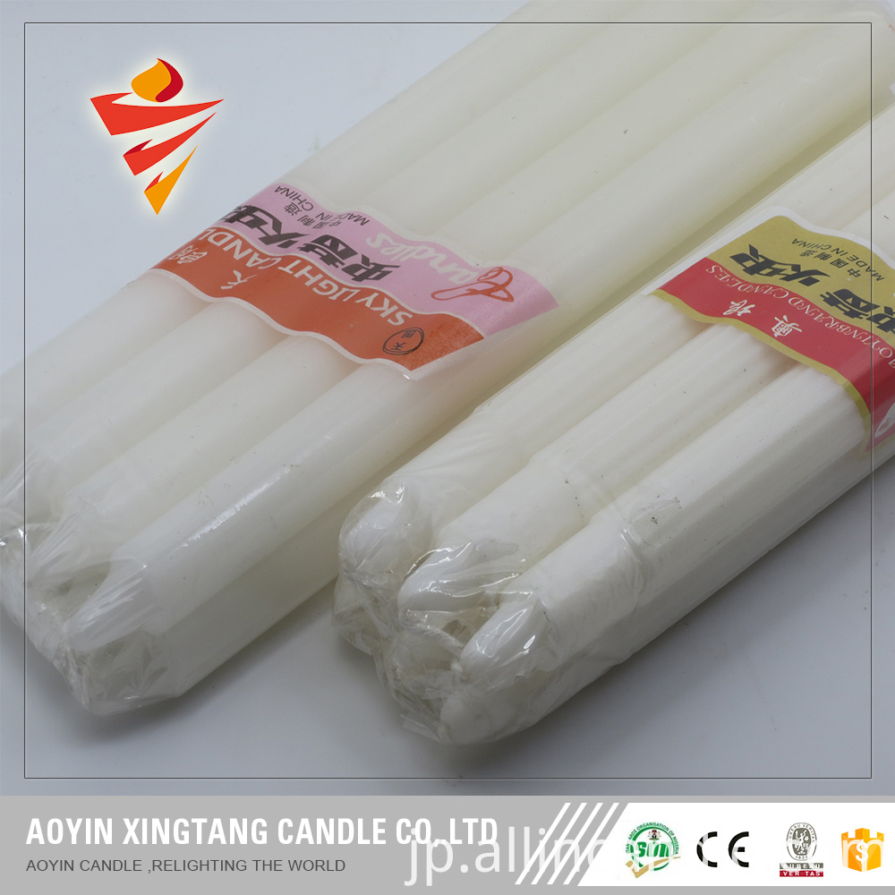 Smokeless Pakistan White Candle With Certificate