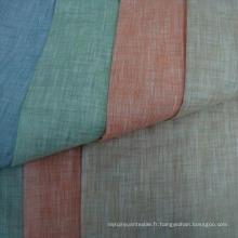 30s 15% Linge de lit 85% Tissu à rayonne Tissu à deux tons en toile de viscose de 30X30 / 68X68
