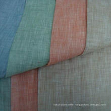 30s 15% Linen 85% Rayon Fabric Two Tone Viscose Linen Fabric of 30X30/68X68