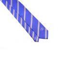 Corbata para hombre de negocios lazo formal de poliéster de boda Jacquard a rayas