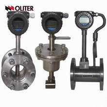 Medidor de fluxo de hidrogênio Vortex analógico do fluxo de ar CO2 com diodo emissor de luz