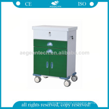 AG-GS004 New Design Dark Green Power Coating Tool Trolley