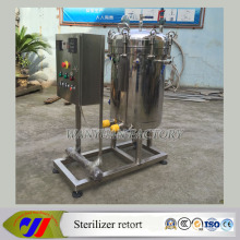 Electric Heating Vertical Sterilizer Retort