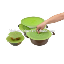 Custom FDA approved silicone sealing lid silicone jar lids