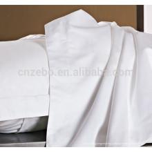 Cantão Branco Tamanho Único 100% Algodão Hospital Folhas de Cama