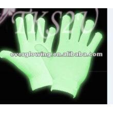parti favoriser lueur dans les gants sombres