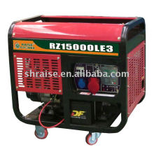 Gerador diesel refrigerado a ar do quadro aberto