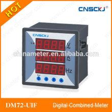 2014 горячие DM72-UIF трехфазные цифровые комбинированные измерители